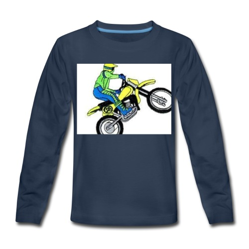 moto bikes - Kids' Premium Long Sleeve T-Shirt