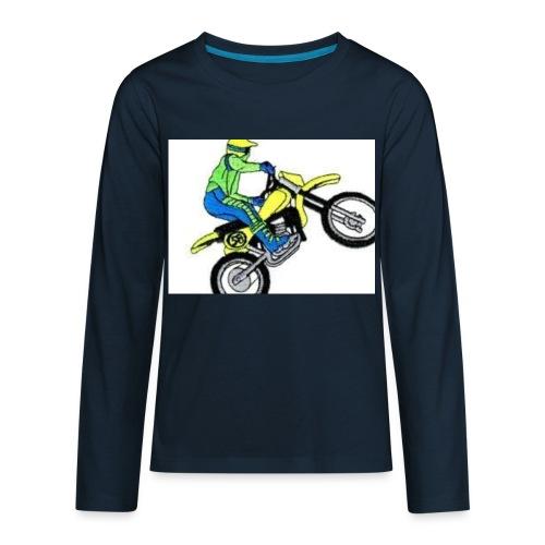 moto bikes - Kids' Premium Long Sleeve T-Shirt