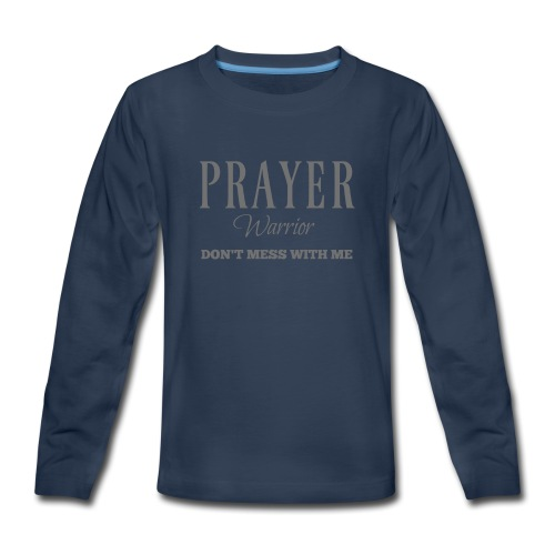 Prayer Warrior - Kids' Premium Long Sleeve T-Shirt