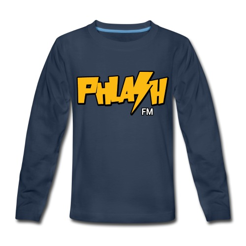 PHLASH fm - Kids' Premium Long Sleeve T-Shirt
