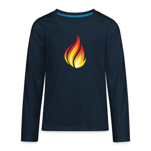 HL7 FHIR Flame Logo - Kids' Premium Long Sleeve T-Shirt