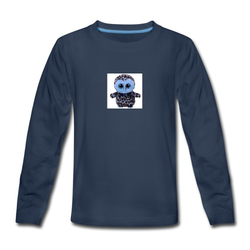 blue_hootie - Kids' Premium Long Sleeve T-Shirt