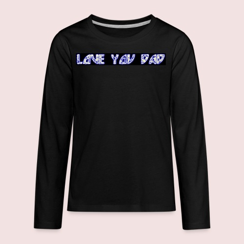 HAPPY FATHER'S DAY - Kids' Premium Long Sleeve T-Shirt