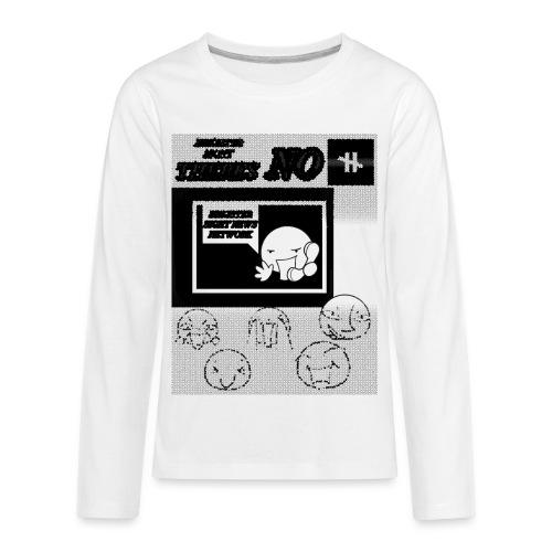 BRIGHTER SIGHT NEWS NETWORK - Kids' Premium Long Sleeve T-Shirt