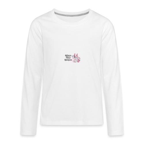 sylvee is a troll - Kids' Premium Long Sleeve T-Shirt