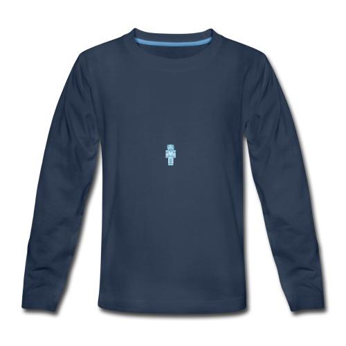 Diamond Steve - Kids' Premium Long Sleeve T-Shirt