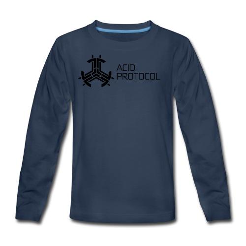 ACID PROTOCOL - Kids' Premium Long Sleeve T-Shirt