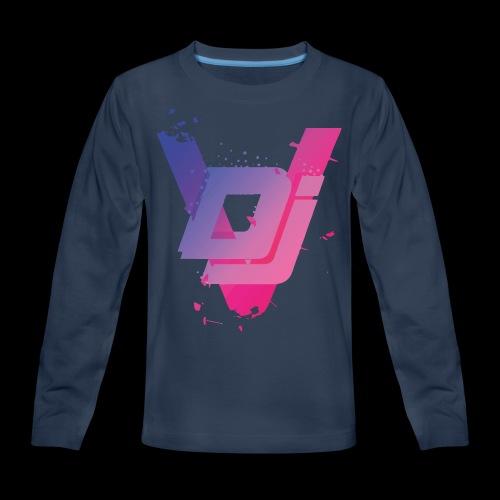 DJ VIRUS INFECTION - Kids' Premium Long Sleeve T-Shirt