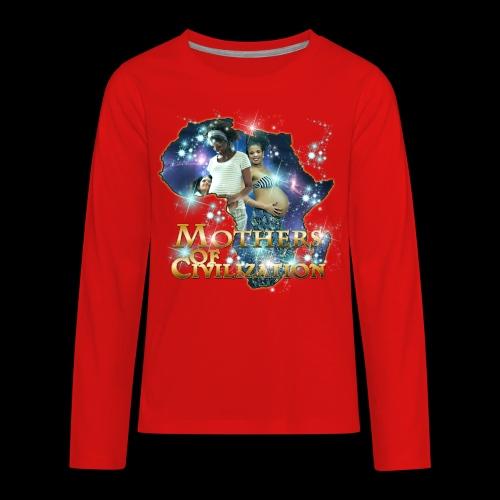 Mothers of Civilization - Kids' Premium Long Sleeve T-Shirt