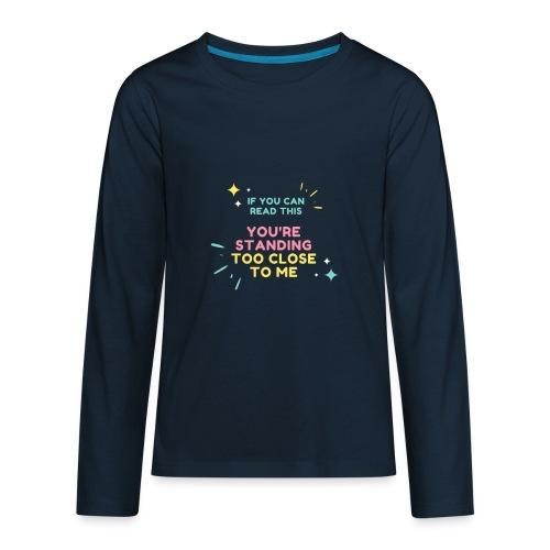 Fight Corona - Kids' Premium Long Sleeve T-Shirt