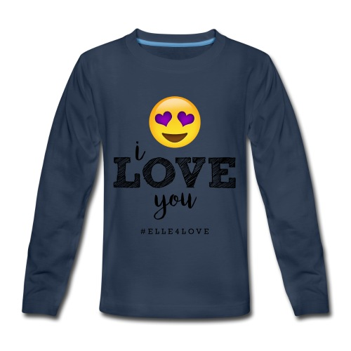 I LOVE you - Kids' Premium Long Sleeve T-Shirt