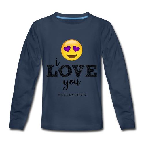 I LOVE you - Kids' Premium Long Sleeve T-Shirt
