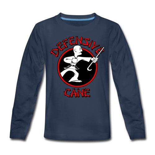 Defensive Cane - Kids' Premium Long Sleeve T-Shirt