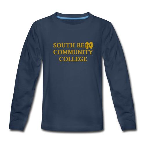 Notre Dame Community College - Kids' Premium Long Sleeve T-Shirt