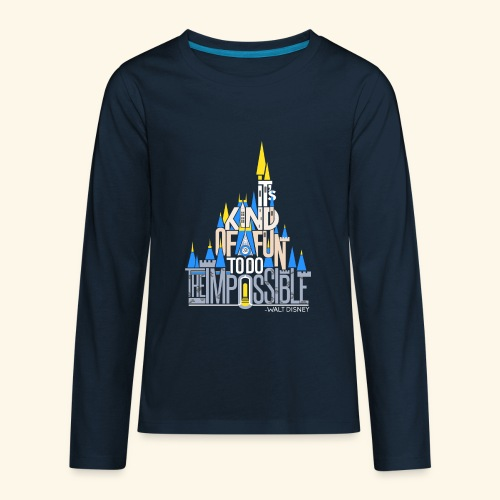 It's Kind of Fun... Original - Kids' Premium Long Sleeve T-Shirt