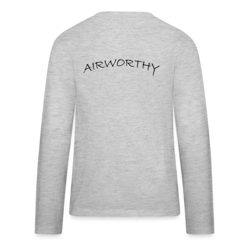 Airworthy T-Shirt Treasure - Kids' Premium Long Sleeve T-Shirt