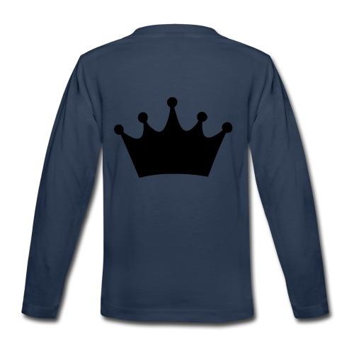 CROWN - Kids' Premium Long Sleeve T-Shirt