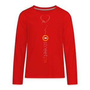 Hanging Heart - Kids' Premium Long Sleeve T-Shirt