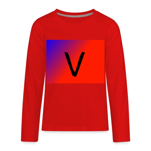 V for Vast - Kids' Premium Long Sleeve T-Shirt