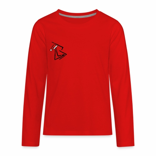 Brenden London XMAS logo - Kids' Premium Long Sleeve T-Shirt