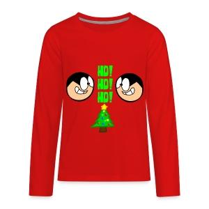 Jake Holiday Sweater - Kids' Premium Long Sleeve T-Shirt