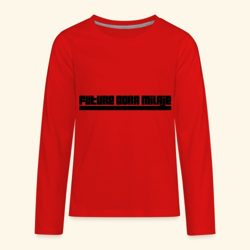 Future Dora Milaje - Kids' Premium Long Sleeve T-Shirt