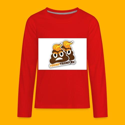 dumpTrump - Kids' Premium Long Sleeve T-Shirt