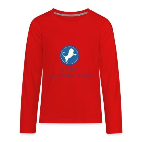 Lion Design - Kids' Premium Long Sleeve T-Shirt