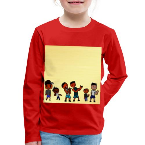 J squad golden legacy - Kids' Premium Long Sleeve T-Shirt