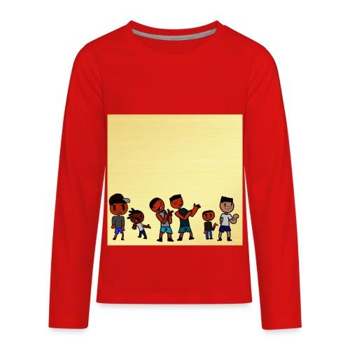 J squad golden legacy - Kids' Premium Long Sleeve T-Shirt