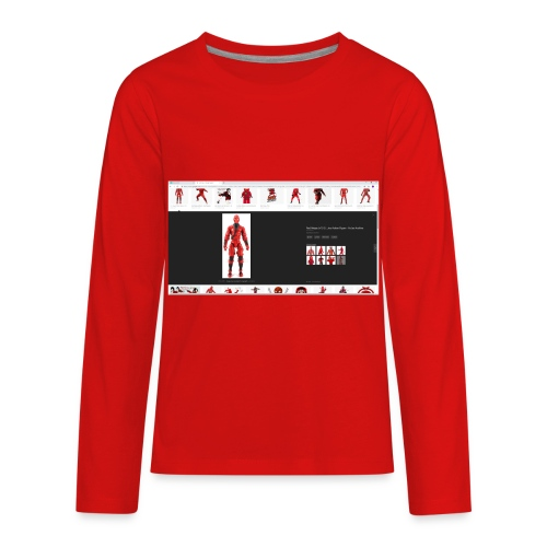 redninjaarmy - Kids' Premium Long Sleeve T-Shirt