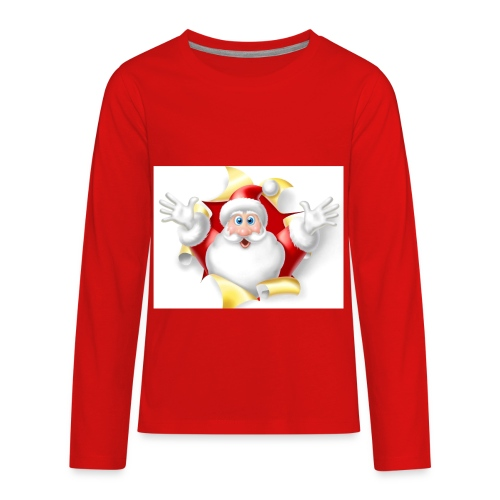 santa limited edition merch - Kids' Premium Long Sleeve T-Shirt