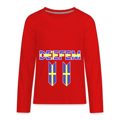 Deefem Swedish - Kids' Premium Long Sleeve T-Shirt