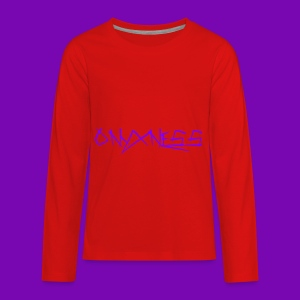 OnyxNess (Purple) - Kids' Premium Long Sleeve T-Shirt