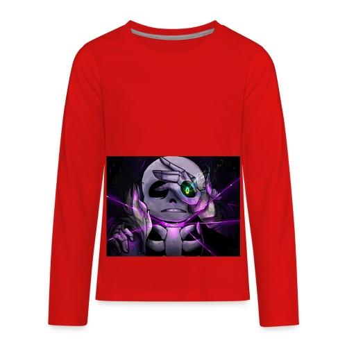 The Best Sans Power Gaming Kids T-Shirt - Kids' Premium Long Sleeve T-Shirt