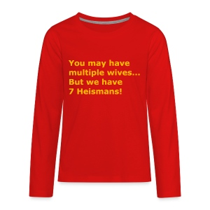 Multiple Wives - Kids' Premium Long Sleeve T-Shirt