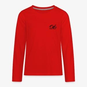 Dan # 16 Signature - Kids' Premium Long Sleeve T-Shirt