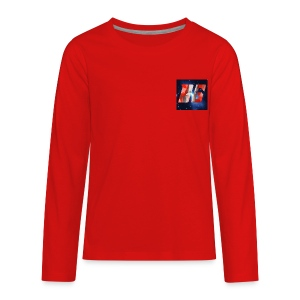 YouTube Logo - Kids' Premium Long Sleeve T-Shirt