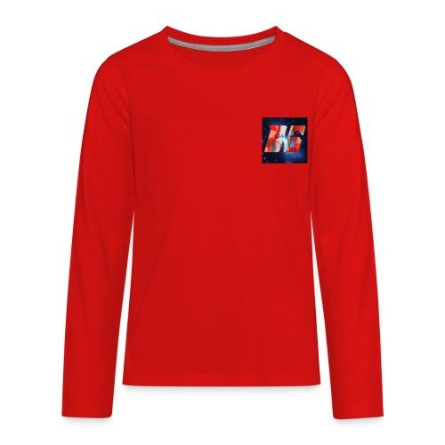 YouTube Logo - Kids' Premium Long Sleeve T-Shirt