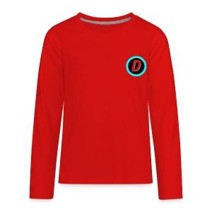 Dan # 16 - Kids' Premium Long Sleeve T-Shirt
