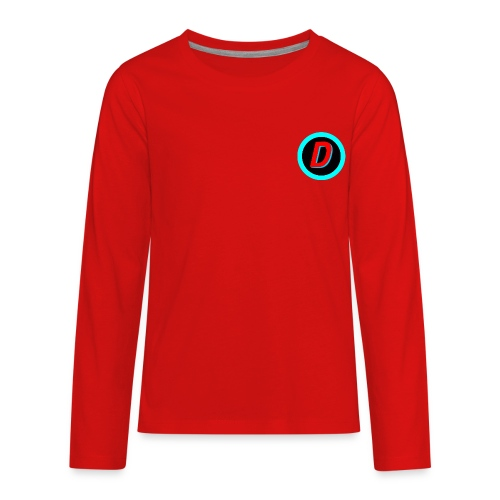 Dan # 16 - Kids' Premium Long Sleeve T-Shirt