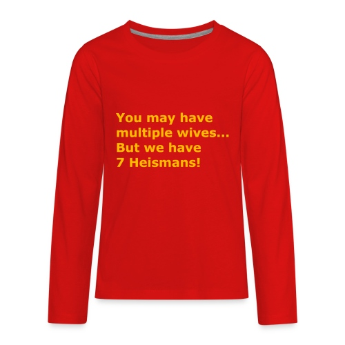 Multiple Wives - Kids' Premium Long Sleeve T-Shirt