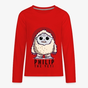 Philip the Yeti - Kids' Premium Long Sleeve T-Shirt