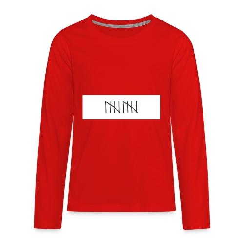 60FE97E1 3EA7 4AF2 BB29 98E6104947A7 - Kids' Premium Long Sleeve T-Shirt