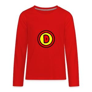 Drewsmc Logo - Kids' Premium Long Sleeve T-Shirt