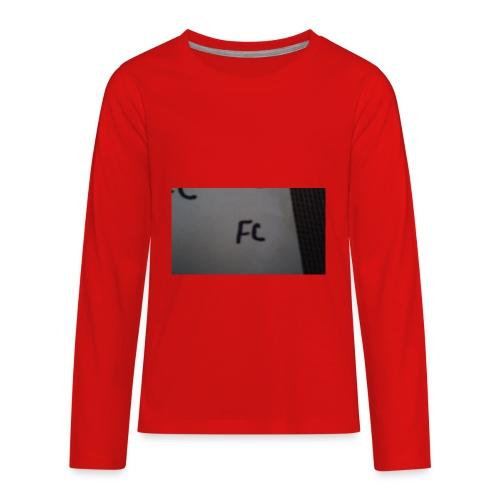 The fc hoodie - Kids' Premium Long Sleeve T-Shirt