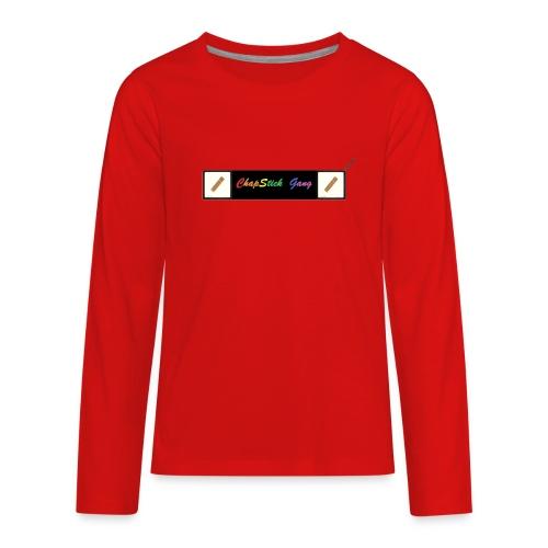 Chapstick Gang Merch - Kids' Premium Long Sleeve T-Shirt