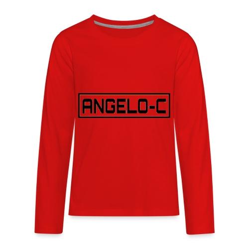 red angelo clifford shirt - Kids' Premium Long Sleeve T-Shirt