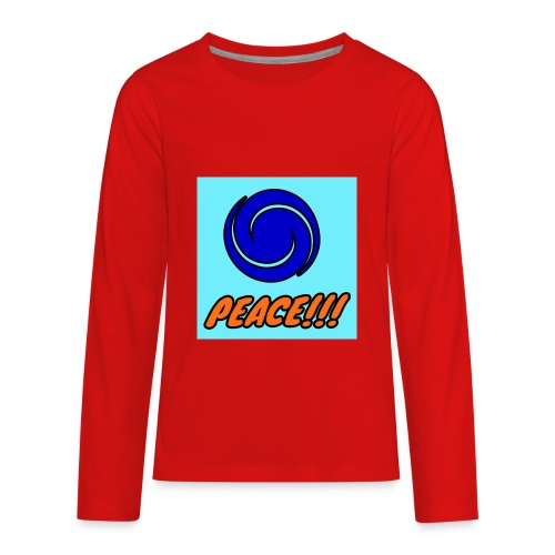 Peace - Kids' Premium Long Sleeve T-Shirt