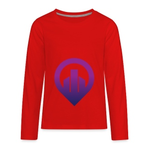 City - Kids' Premium Long Sleeve T-Shirt